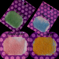 1 pack 2*2mm 12 Color to choose Ceramic 3D Nail Art Glitter Rhinestone Charms DIY Nail Decoration Tools #ND20