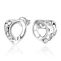 New Women Men Earrings Jewelry 925 Sterling Silver Earrings Fashion Women Stud Earrings Jewelry Wholesale PCE585