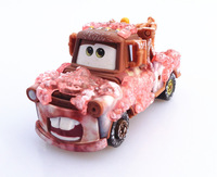 Free shipping genuine original pixar Cars 2 alloy die toy model car tomar um banho estilo mater toys for children gift