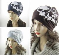 2015 Spring Korean Hip-hop Unisex Skull Letters Printed Cap Street Beat Fashion Hat HT016