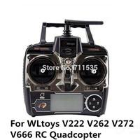 4CH 6 Axis RC Quadcopter Switchable Remote Controller Transmitter For WLtoys V272 V262 V222 V212 V202 V252 V666 RC Helicopter