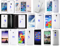 Wholesale Best ULTRA THIN CLEAR 0.3mm Rubber Silicone soft TPU multicolor Cover Case For iPhone  samsung htc mi huawei