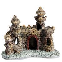 High Quality Aquarium Decoration Bunker Towers Fish Tank Ornament Cave Resin Handicraft Small Antique Castle