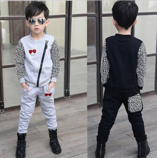 2015 printemps, garçon. vêtements de causalité jeunesse, léopard