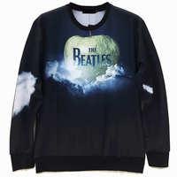 Big Apple Men's Crewnecks  3D Hoodies Sweatshirts  Long Sleeve Outerwear Pullovers free shipping high quality