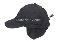 Brand new men winter waterproof windproof fleece earflap adjustable baseball cap hunting hat Free shipping