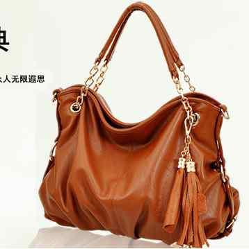 Female new fashion mobile pendant fringed faux leather shoulder Messenger bag baodan 058(China (Mainland))