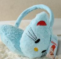 Unisex's Earmuff Cute Cat Cold-proof Earmuff Blue Hot Sale All Match Free Shipping Free Size Warm Winter Style Cute