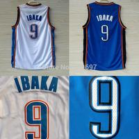 Oklahoma 9 Serge Ibaka Basketball Jerseys, Cheap Brand New REV 30 Embroidery Logos Serge Ibaka Basketball Jersey, Free Shipping