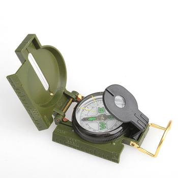 Горячая распродажа портативный складной линзы компас американский военный мода многофункциональных новый NVIE
