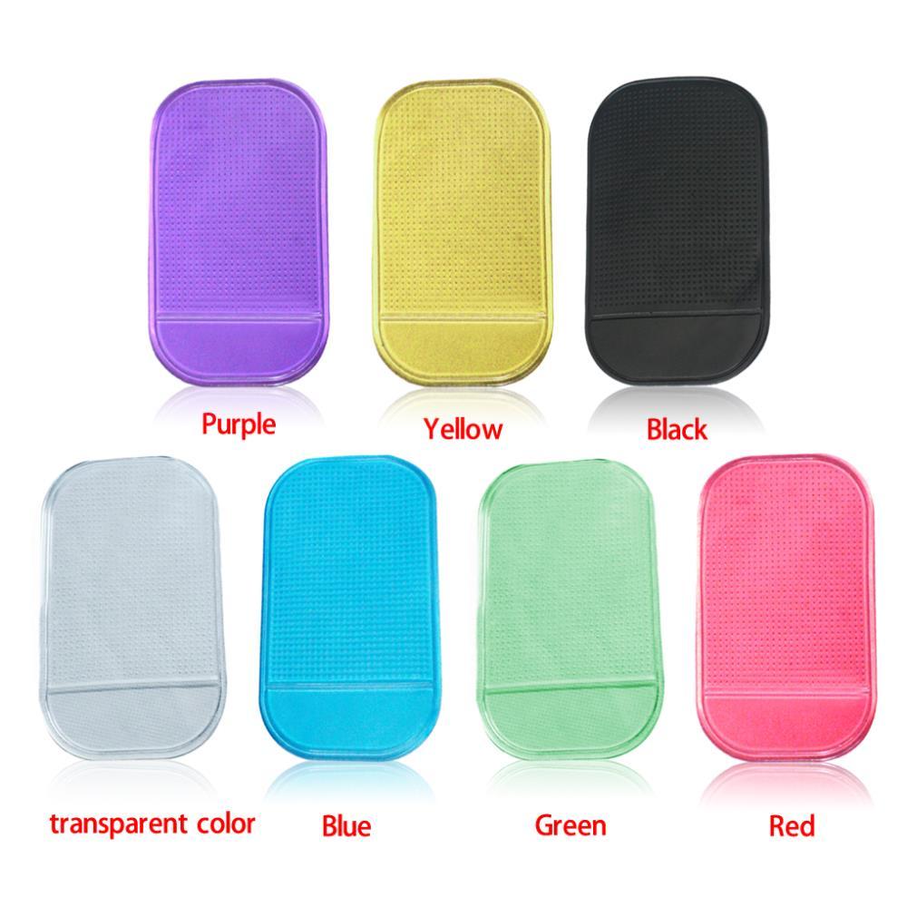 Wholesale New Portable practical Silicone Skin Mat Car Mat sticky pad Antiskid Mat Non-slip Mat Holder(China (Mainland))