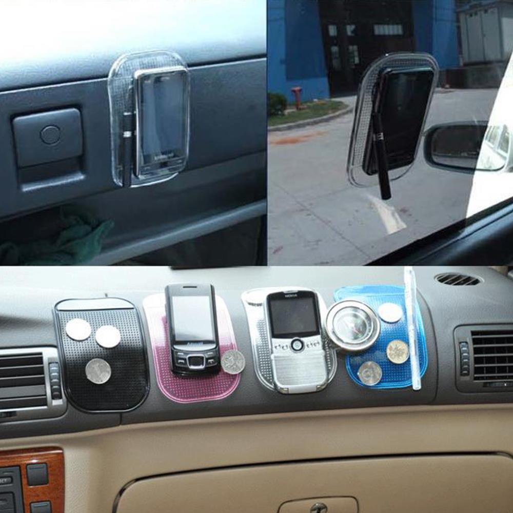 Портативная практическая силикон кожи циновка циновка для автомобиля важная pad противоскользящих циновка нет - скольжение циновка держатель