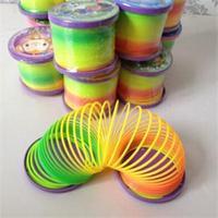 New Magic Slinky Rainbow Springs Bounce Fun Toy Kid Children Toy