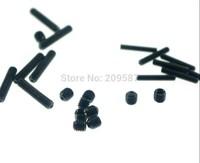QTY50 M2x10mm Head Hex Socket Set Grub Screws Metric Threaded Cup Point