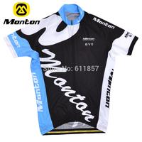 Monton children's clothing ride service blue child ride service short-sleeve top summer top Men ride