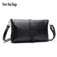 2014 Best Genuine Women Leather Handbags Fashion Casual Plaid Female Brand Shoulder Messenger Cosmetic Bag,S78E