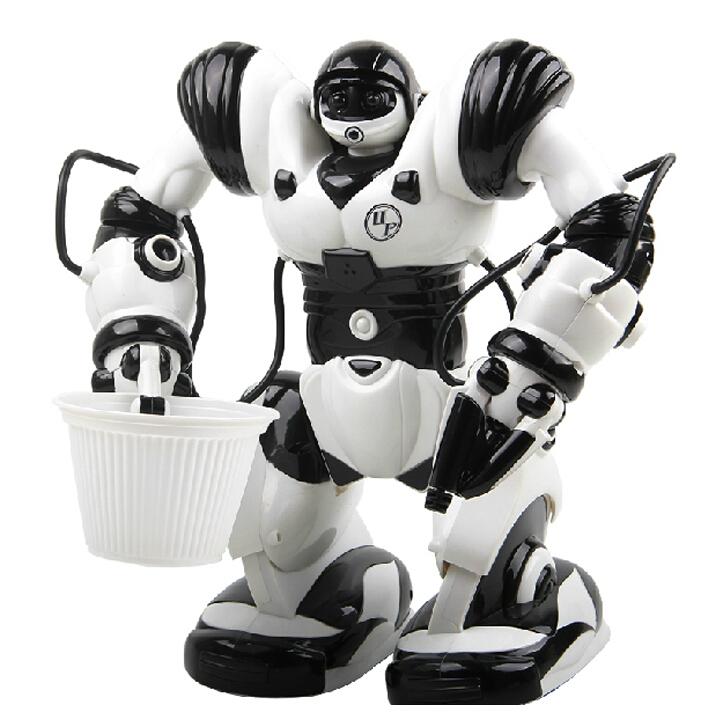 JiaQi TT323 RC Intelligent ROBOACTOR Robot Toy 3rd Generation/Dancing/Walking/Music/Light/Voice ommunication/KongFu(China (Mainland))