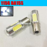 2X 1156 382 BA15S p21w 1157 BAY15D p21/5w bay15d PY21W led light bulb 5XCOB Tail Turn Signal reversing lamp Light