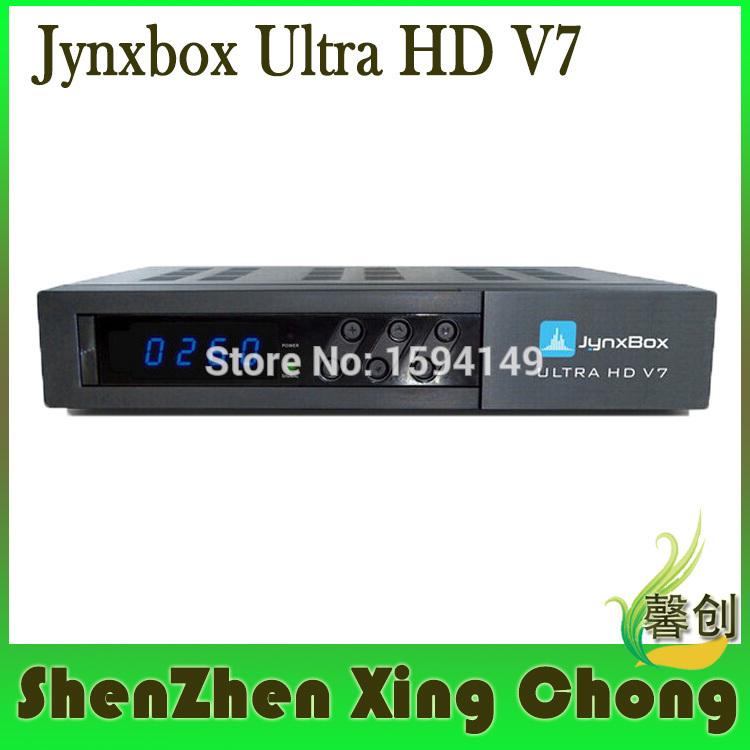 8qpsk channel JynxBox Ultra HD V7 Receiver+JB200+HDMI+WIFI dongle Jynxbox v7 fta satellite receiver fta iks Account(China (Mainland))