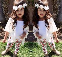 7Set Children girl's 220716 fashion girl child exquisite set outerwear vest trousers 3-piece/set