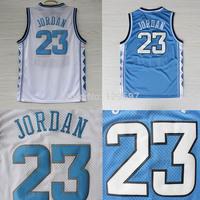 Michael Jordan North Carolina Jersey, Cheap Michael Jordan Collage Jersey North Carolina 23 White & Blue, Free Shipping