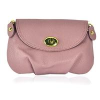 Brand New Vintage PU Leather Satchel Purse Shoulder Messenger Cross Body Bag Pink for good selling