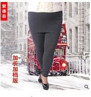 5 pieces plus size velvet Women'S Pants With Mini Faux Skirt Warm False Two Pieces Leggings Fashion Stretch 2 In 1 pant trouser