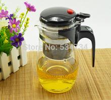 750ML heat-resistant glass tea pot tea set coffee water pot kettle cup coffee maker tea flask coffee&tea sets free shipping