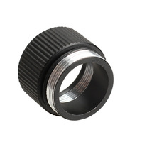 Extension Ring Tube Rechargeable Joint Adapter for Bright Flashlight 18650 H1E1