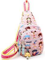 The new direct Harajuku Female bag Harajuku satchel Shoulin bags suit chest bag Pendant