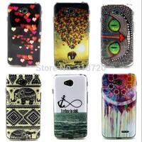 For LG L70 TPU soft case Fashion Cartoon owl High quality design Phone Cases cover skin D1464-A