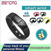OEM Pedometer Bluetooth 4.0 Waterproof Pedometer Bracelet / Wristband Activity tracker Smart Band
