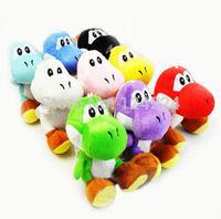 "Wholesale Super Mario Brothers Nintendo Soft Stuffed YOSHI 7"" Plush Doll Toy"