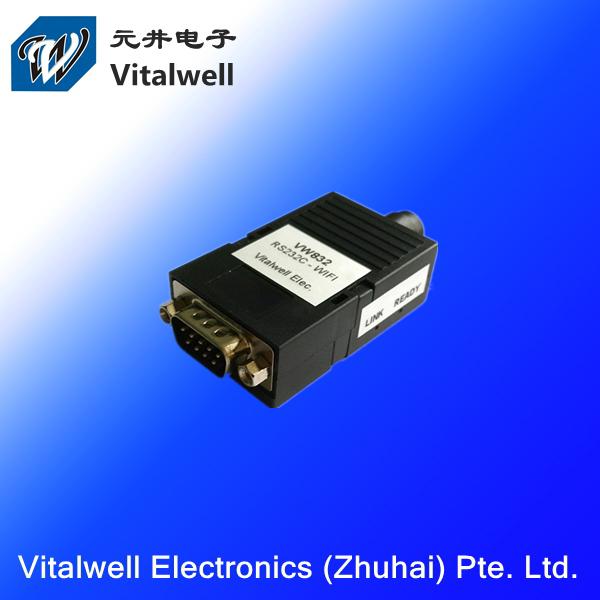 VW832 2015 FCC/CE Low Power wifi module,802.11 b/g/n Serial rs232 to wifi(China (Mainland))