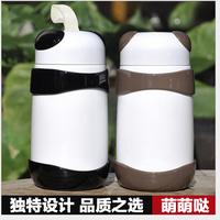 Vacuum stainless steel mug mug wholesale Korean children cute panda-grade glass cup creative