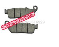 motorcycle Kevlar Carbon Front Brake disc Pads plate for honda XR400 NTV600 VT600 NTV650 CBR750 VFR750