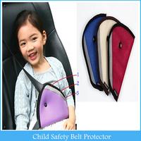 Car Child Safety Cover Shoulder Harness Strap Adjuster Kids Seat Belt Clip Child Resistant Safety Belt Protect A848