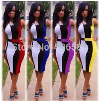 Sexy Women Clubwear  Mini Dresses Sexy Lady Dress 4 Colors with size S,M, L,XL