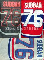 Hot Sale Montreal Canadiens CCM Ice Hockey Jerseys #76 P.K. Subban Authentic 76 PK Subban Jersey