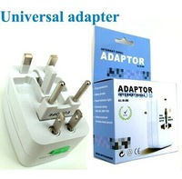 Wholesale!Free Shipping!Retail Box! Worldwide Universal Travel Wall Charger AC Adapter Socket AU/UK/US/EU Plug For Business