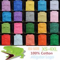 Made in Peru Summer Men Classic men Mesh Pique Cotton Alligator Polo/casual&Business Polo/100% cotton, US SIZE camisa POLO