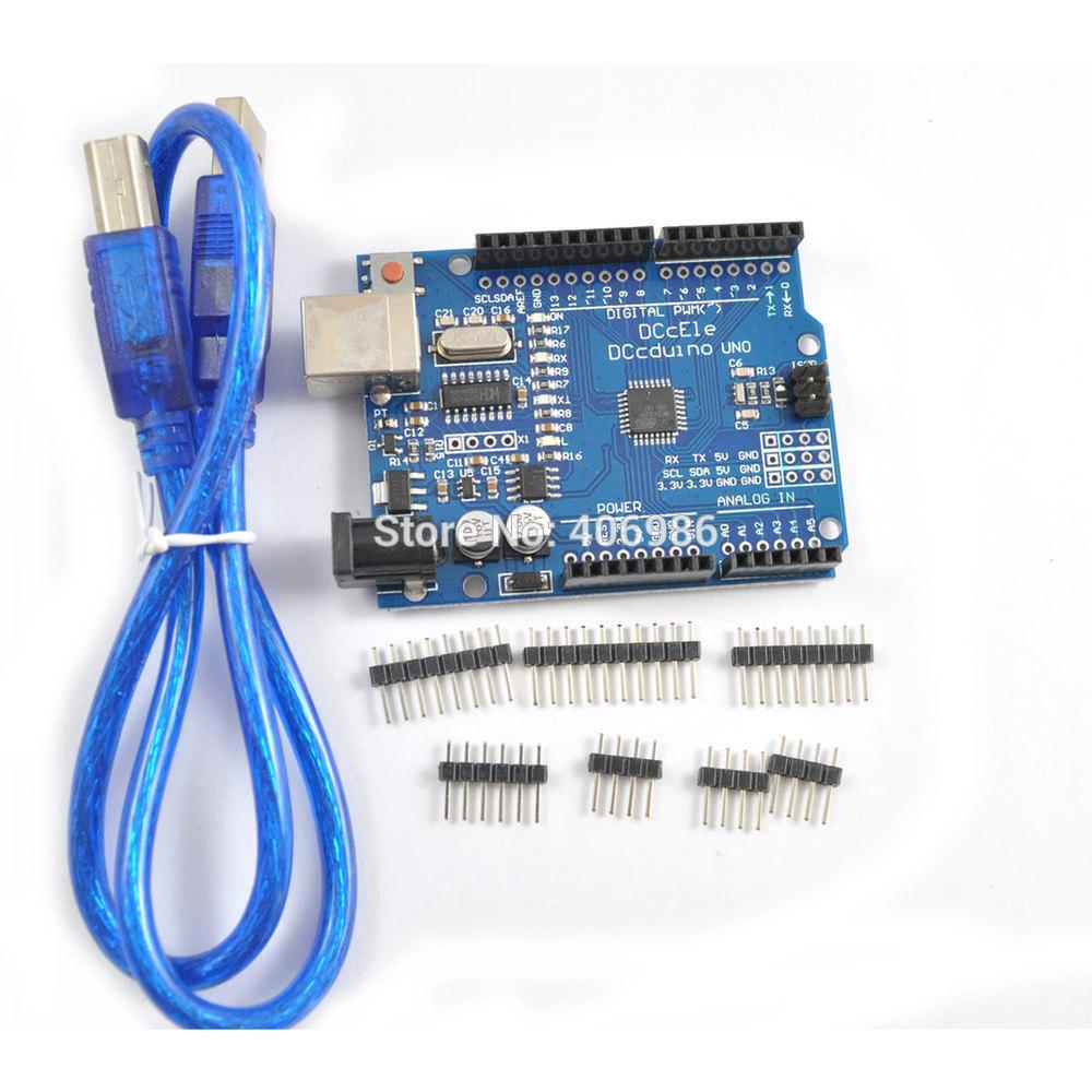 Интегральная микросхема 2 /dccduino UNO ATmega328 Arduino R3 USB FZ1116 интегральная микросхема no usb 2 0 ub001
