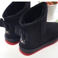 new design 2015 fashion flats ankle fur inside women boots autumn winter boots snow lady shoes woman