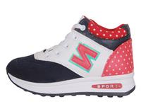 Girls help canvas shoes platform shoes tide Korean students shoes fashion shoes women running shoes elevator shoes 35-40