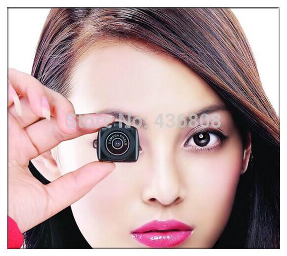 Free shippingNew Arrival Portable Smallest 720P HD Webcam Mini Camera Video Recorder Camcorder DV DVR Y3000/CCTV Camera(China (Mainland))