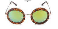 T14122404, Tianluse, 1 Pair/lot, New Vintage Ornament Sunblock Metal Frame TAC Lens UV Proof Unisex Sunglasses , Free Shipping