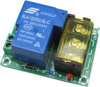 Normally open Normally close 30A High Current Relay Output  Module DC12V powered
