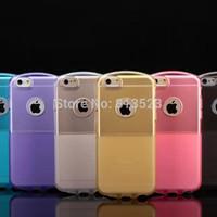 Space Capsule Air Semi Clear TPU Cover Case For iPhone 6 4.7,6 Plus 5.5