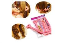 6pcs/lot Sleeping Beauty Curls Sponge Hair Curlers Sponge Hair Roller