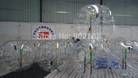 4PCS Free shipping  PVC 1.5m Air Bumper Ball,Zorbing Ball,Loopy Ball, Human hamster ball,bubble football, bubble soccer for sale